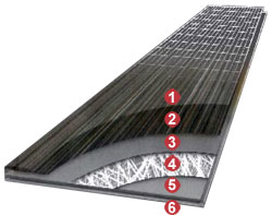 Estructura Parquet PVC